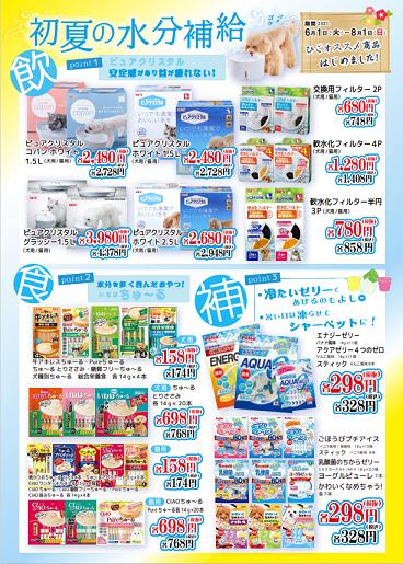 初夏の水分補給セール開催!!