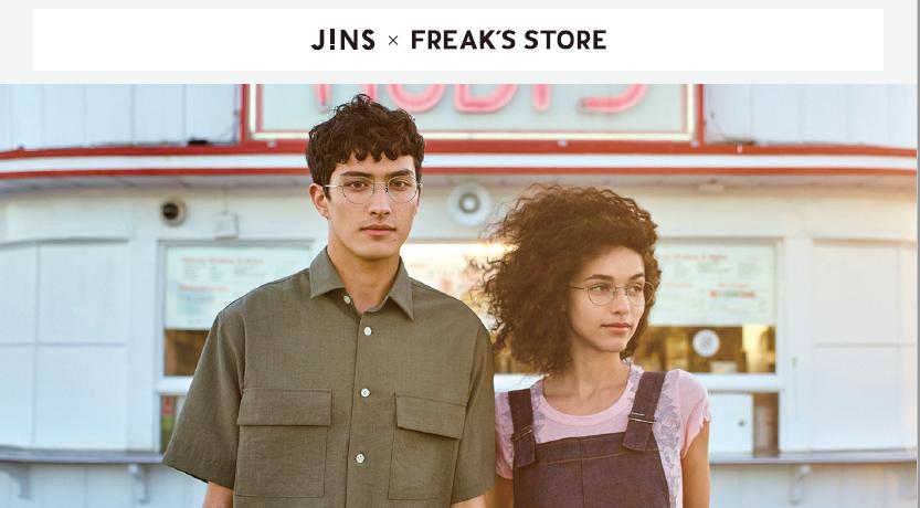 JINS×FREAK'S STORE コラボ