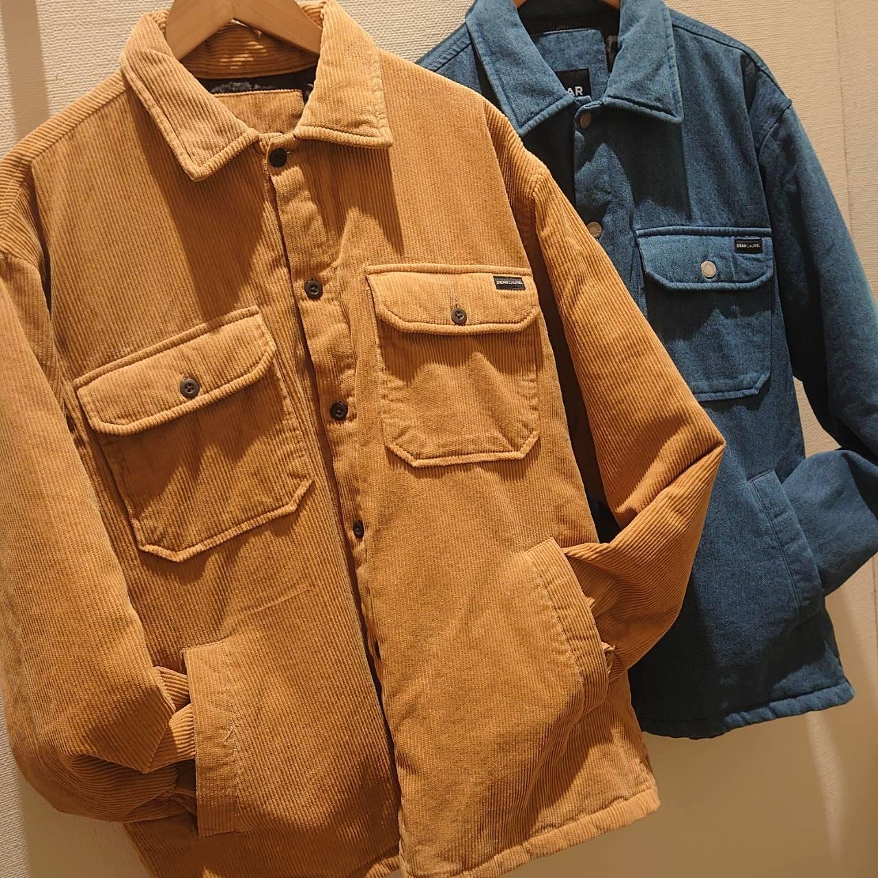【メンズ】D.LAURELシャツジャケットのご紹介です♪