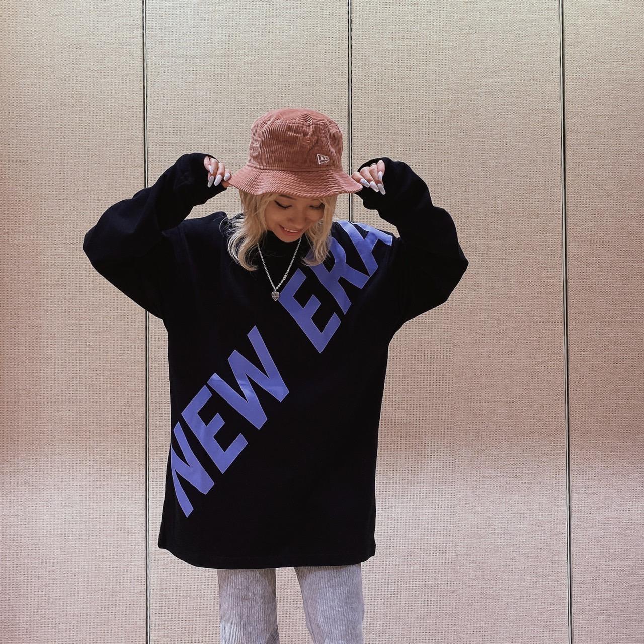 【レディース】NEWERAオーバーサイズTシャツ♪