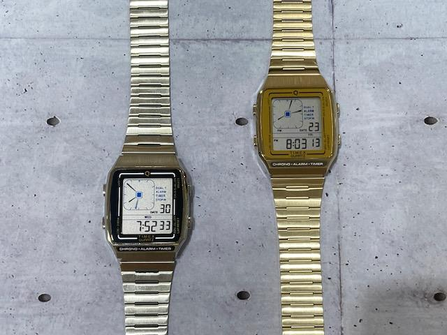 【Q TIMEX】から1980年代後半デジタルブームの名作が復刻!!